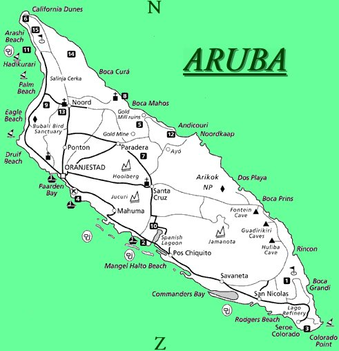 Caribbean TravelAruba Directory Caribbean Tour Caribbean