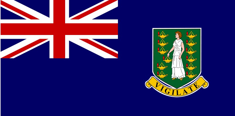 British Virgin Islands The National Flag
