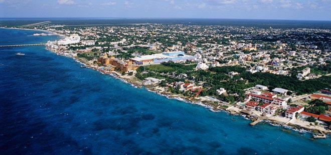 view of Cozumel