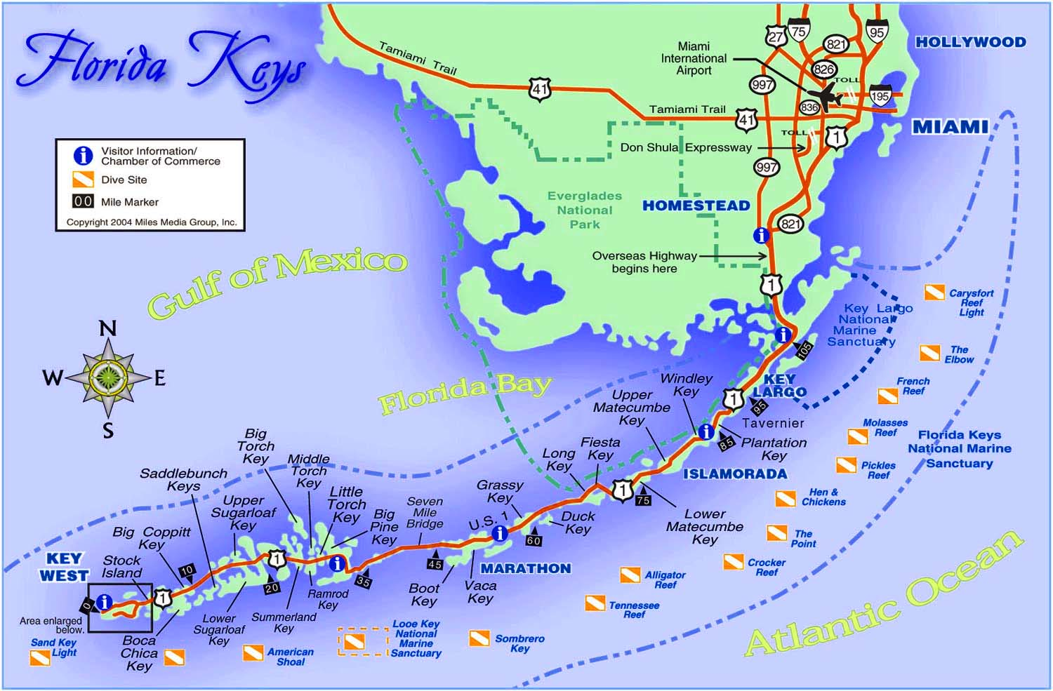 Florida Keys Maps.21 Amazing Map Of Florida Keys Islands Bnhspine Com