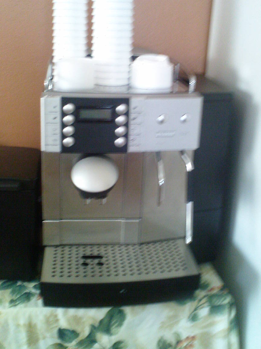 Flowers_internet _Cafe_Ocho_ Rios_ coffee machine