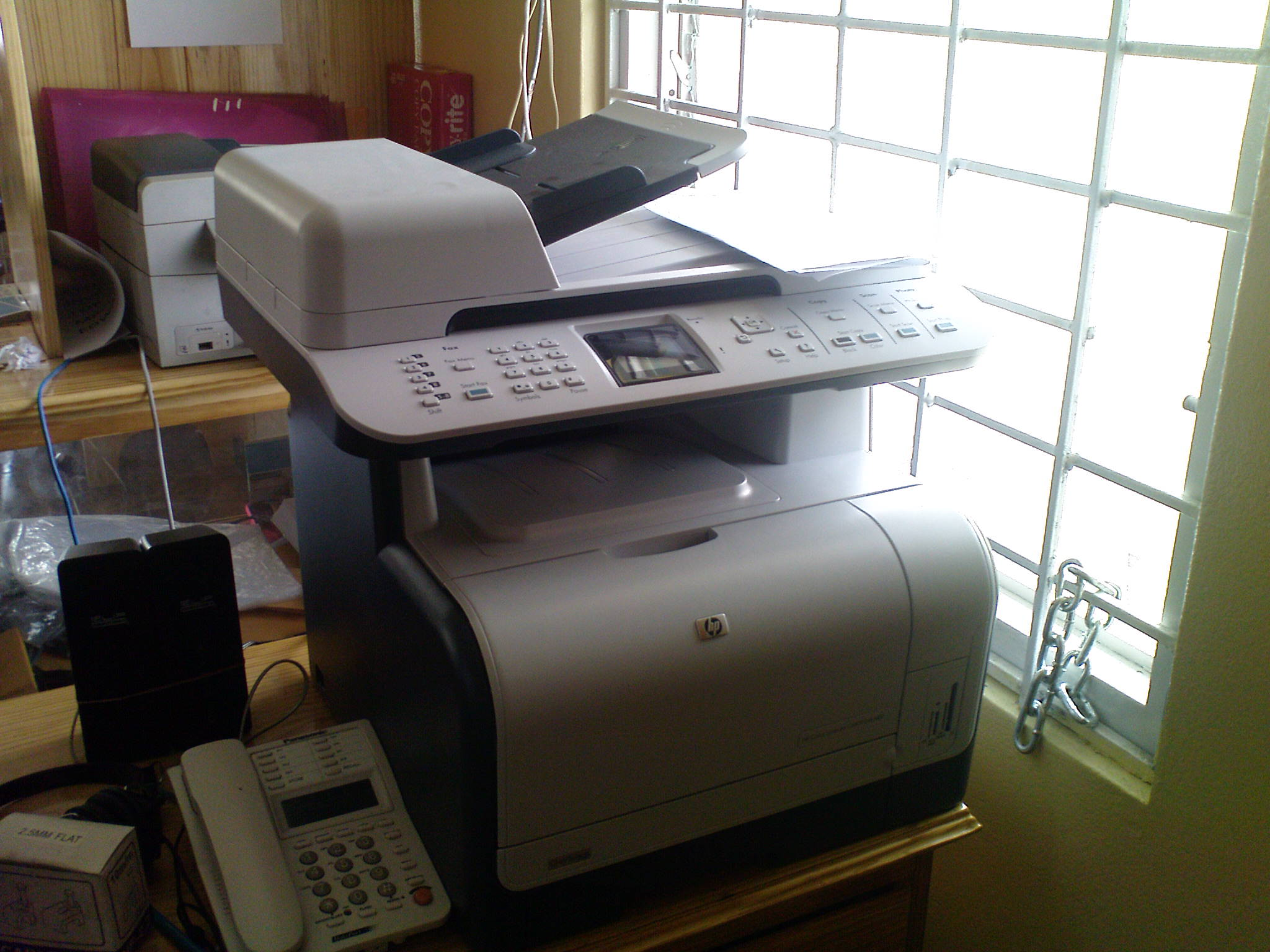 Flowers_internet _Cafe_Ocho_ Rios_HP Laser_printer