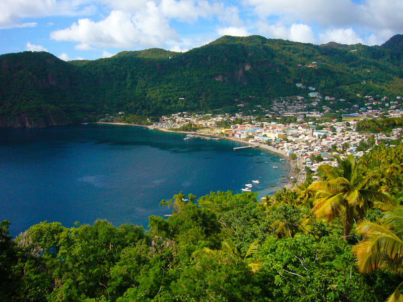 Location St Lucia In Caribbean: Information About St. Lucia - Caribbean Tour