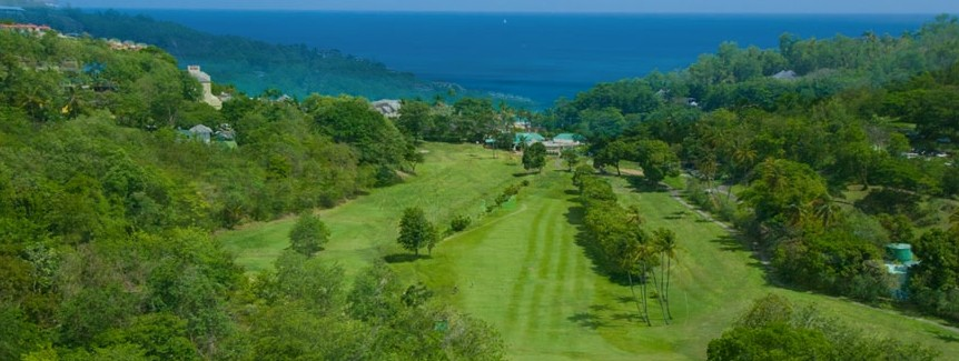 Sandals Golf Course in St. Lucia