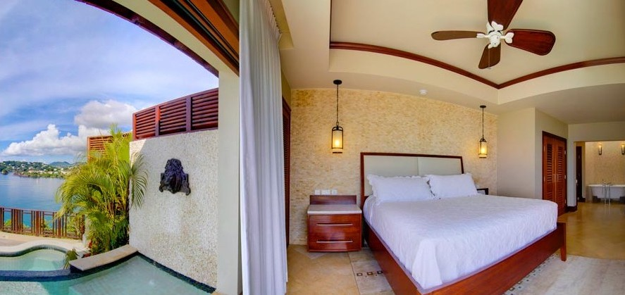 Sandals Millionaire Suites with Private Pool and Whirlpool