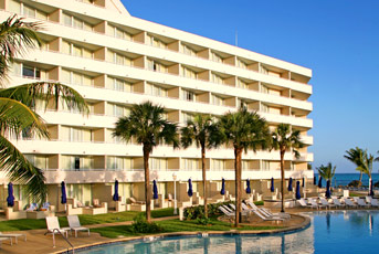 The Sheraton Nassau beach resort