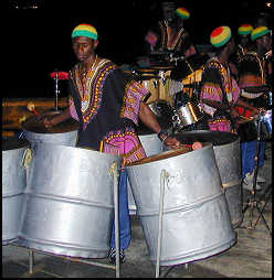 St Vincent and the Grenadines steel band